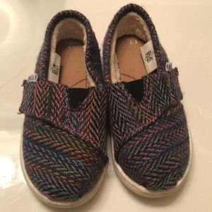 Tweed multi color little Toms
